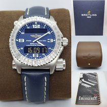 Breitling E56321 Titanium 2005 Emergency 43mm pre-owned United States of America, New York, Woodbury