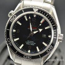 Omega Seamaster Planet Ocean Ocel 45.5mm Černá Arabské