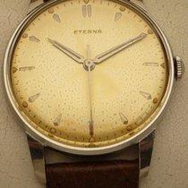 Eterna Vintage Armbanduhr Eterna in Edelstahl,Handaufzug,Cal. 1117U 1952 pre-owned
