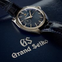 Seiko pre-owned Manual winding 39mm Blue