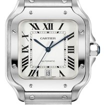 Cartier WSSA0018 Steel 2021 Santos (submodel) 39.8mm new United States of America, New York, New York