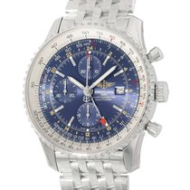 Breitling Navitimer World new 2020 Automatic Chronograph Watch with original box and original papers A2432212/C651