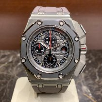Audemars Piguet Royal Oak Offshore Chronograph Titanio 44mm Gris Sin cifras