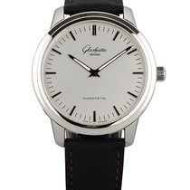 Glashütte Original Senator Automatic Steel 40mm Silver No numerals