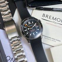 Bremont Steel Automatic Black new Supermarine