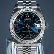 Rolex Lady-Datejust Otel 31mm Albastru Arabic