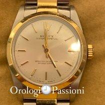 Rolex Oyster Perpetual 31 Acero y oro Blanco