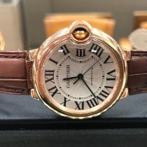 Cartier Ballon Bleu 36mm Pозовое золото 36mm Cеребро Римские
