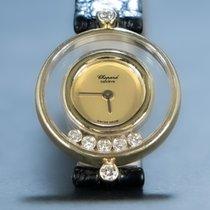 Chopard Happy Diamonds Or jaune 24mm Or Sans chiffres