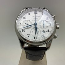 Longines Master Collection Acier 42mm Blanc Arabes