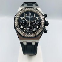 愛彼 Royal Oak Offshore Lady 26048.SK.ZZ.D002CA.01 非常好 鋼 37mm 自動發條