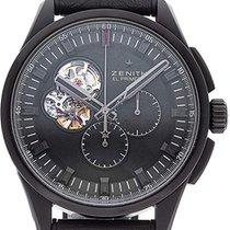 Zenith El Primero Chronomaster Titan 45mm Schwarz Keine Ziffern Schweiz, Samnaun