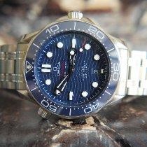 歐米茄 Seamaster Diver 300 M 二手 42mm 藍色 日期 鋼