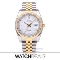 Rolex Datejust Gold/Steel 36mm Champagne