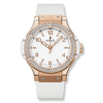 Hublot Big Bang 38 mm Roségold 38mm Weiß Arabisch