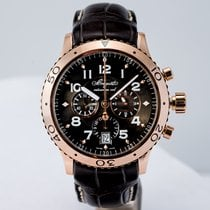 Breguet Type XX - XXI - XXII Rose gold 42mm Grey Arabic numerals United States of America, Massachusetts, Boston