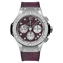 Hublot Big Bang Jeans Staal 41mm Paars