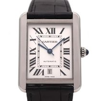 Cartier Tank Solo Steel 31mm Silver Roman numerals United States of America, Florida, Hollywood