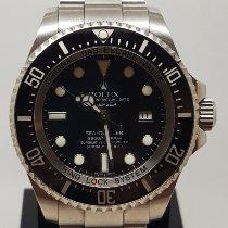 Rolex Sea-Dweller Deepsea używany 44mm Czarny Data Stal