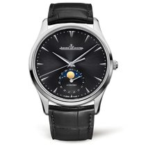 Jaeger-LeCoultre Master Ultra Thin Moon Steel 39mm Black No numerals United States of America, New York, New York