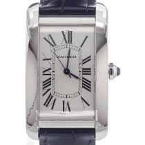 Cartier Tank Américaine Steel Silver Roman numerals United States of America, Florida, Hollywood