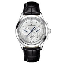Jaeger-LeCoultre Master Chronograph Steel 40mm Silver No numerals United States of America, New York, New York