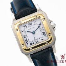 Cartier Santos (submodel) Złoto/Stal 31mm