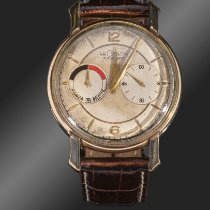 Jaeger-LeCoultre Lecoultre Futurematic, plaqué or 10 microns, vers 1955. Good 35mm Manual winding