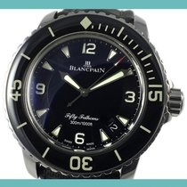 Blancpain Fifty Fathoms Steel 45mm Black Arabic numerals