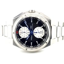 IWC Big Ingenieur Chronograph Steel 45mm Black No numerals United States of America, New York, New York