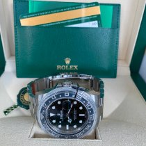 Rolex GMT-Master II Stahl 40mm Schwarz Keine Ziffern Deutschland, Gießen