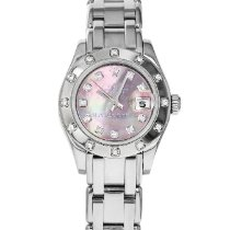 Rolex Lady-Datejust Pearlmaster White gold 29mm Mother of pearl Roman numerals United States of America, Maryland, Baltimore, MD