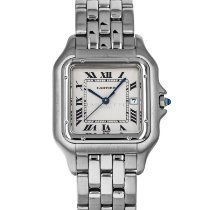 Cartier Panthère Steel 29mm Silver Roman numerals United States of America, Maryland, Baltimore, MD
