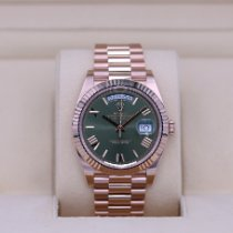 Rolex Day-Date 40 Rose gold 40mm Green United States of America, Tennesse, Nashville