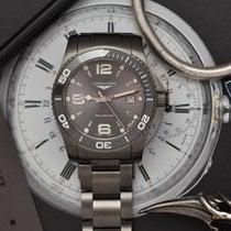 Longines Steel Automatic Grey new HydroConquest