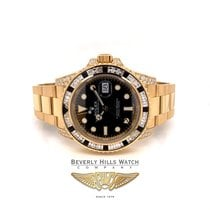 Rolex GMT-Master II Yellow gold 40mm Black No numerals United States of America, California, Beverly Hills