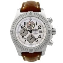 Breitling Steel Automatic White Arabic numerals 48mm pre-owned Super Avenger