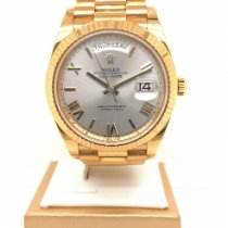 Rolex Day-Date 40 Yellow gold 40mm Silver Singapore, Singapore