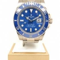 Rolex Submariner Date White gold 40mm Blue No numerals Singapore, Singapore