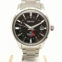 Seiko pre-owned Automatic 39mm Black Sapphire crystal 10 ATM