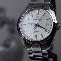 Seiko Grand Seiko Steel 40.5mm Silver No numerals