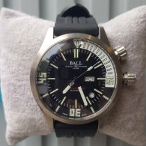 Ball Engineer Master II Diver Titanio 44mm Negro Sin cifras