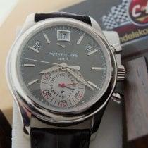 Patek Philippe Annual Calendar Chronograph Platin 40.5mm Grau Keine Ziffern Deutschland, Eltville