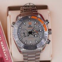 Omega Titanium Automatic Grey No numerals 45.5mm new Seamaster Planet Ocean Chronograph