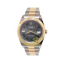 Rolex Datejust 126333  ROLEX DATEJUST WIMBLEDON ACCIAIO E ORO 41MM 2020 new