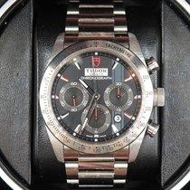 Tudor Fastrider Chrono Steel 42mm Black No numerals