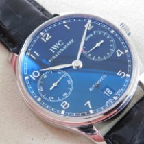 IWC IW500109 Steel 2011 Portuguese Automatic 42mm pre-owned