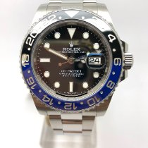 Rolex GMT-Master II Steel 40mm Black No numerals United Kingdom, Leicester