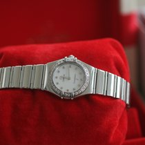 Omega Constellation Quartz Acero 22.5mm Madreperla