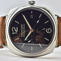 Panerai Radiomir 10 Days GMT Steel 47mm Black Arabic numerals